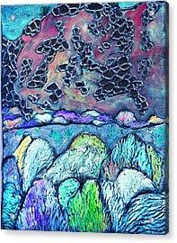New Mexico Landscape Acrylic Print by Wayne Potrafka