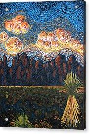 New Mexico Sunset Acrylic Print