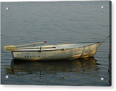 Acrylic Print featuring the photograph New Oars by Ron Read