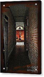 New Orleans Alley Acrylic Print