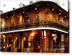 New Orleans And All That Jazz Acrylic Print by Kim Fearheiley