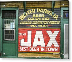 New Orleans Beer Parlor Acrylic Print