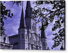 New Orleans Cathedral Acrylic Print by Garry Gay