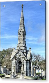 Acrylic Print featuring the photograph New Orleans Cemeteries by JC Findley