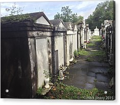 New Orleans Cemetery Acrylic Print