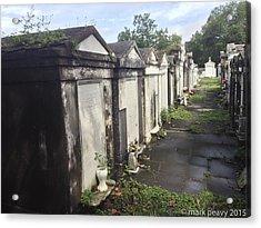 New Orleans Cemetery Acrylic Print