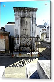 New Orleans Crypt 8 Acrylic Print by Patricia Bigelow