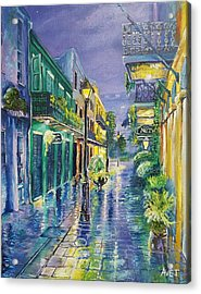 New Orleans Exchange Alley Acrylic Print