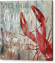 New Orleans Gumbo Acrylic Print