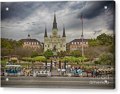 New Orleans Jackson Square Acrylic Print