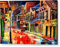 New Orleans Jive Acrylic Print by Diane Millsap
