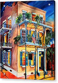 New Orleans' La Fitte's Guest House Acrylic Print by Diane Millsap