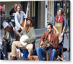 New Orleans Musicians Acrylic Print