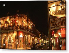 New Orleans Jazz Night Acrylic Print