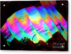 New Orleans Northern Lights  Abstract Aurora Acrylic Print by Michael Hoard