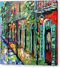 New Orleans Painting - Glowing Lanterns Acrylic Print