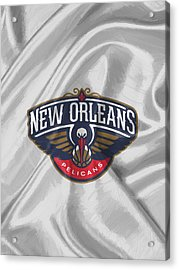 New Orleans Pelicans Acrylic Print by Afterdarkness