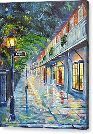 New Orleans Pirate's Alley Acrylic Print