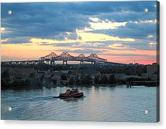 New Orleans Riverfront Acrylic Print
