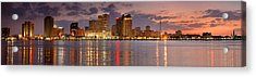 New Orleans Skyline At Dusk Acrylic Print