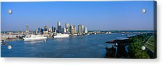 New Orleans Skyline, Sunrise, Louisiana Acrylic Print by Panoramic Images