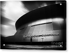 New Orleans Stadium Acrylic Print by Alessandro Giorgi Art Photography