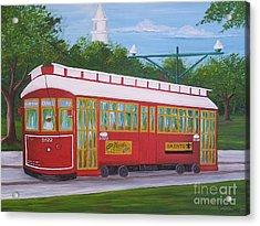 New Orleans Streetcar Acrylic Print