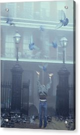 New Orleans Acrylic Print by Tom Romeo
