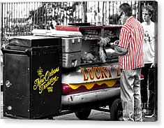 New Orleans Traditions Fusion Acrylic Print by John Rizzuto