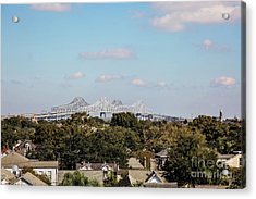 New Orleans Twin Spans  Acrylic Print