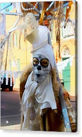New Orleans Voodoo Man Acrylic Print by Barbara Chichester