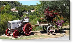 Acrylic Print featuring the photograph New Pastures by Richard Patmore