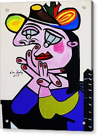 New Picasso  Bug Eye Acrylic Print
