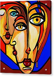 New Picasso By Nora Friends Acrylic Print