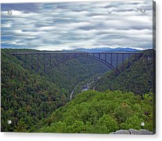 New River Bridge Acrylic Print
