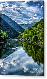 New River Gorge National River 3 Acrylic Print