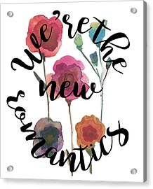 New Romantics Acrylic Print by Patricia Abreu