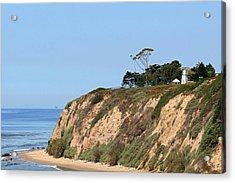 New Santa Barbara Lighthouse - Santa Barbara Ca Acrylic Print by Christine Till