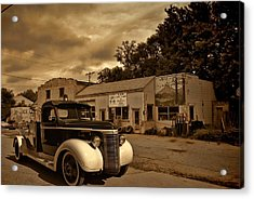 New Shop Tow Truck Acrylic Print