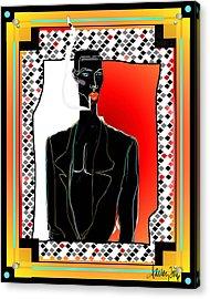 Amazing Grace Jones Acrylic Print