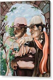 New Story By Sir Arthur Conan Doyle About Sherlock Holmes Acrylic Print
