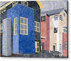 New Urbanism Acrylic Print by Carol Ann Waugh