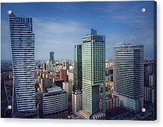 New Warsaw  Acrylic Print