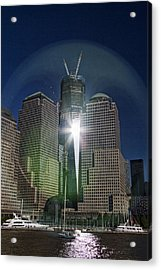 New World Trade Center Acrylic Print
