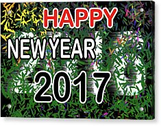 New Year Acrylic Print