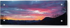 Acrylic Print featuring the photograph New Year Dawn - 2016 December 31 by D K Wall