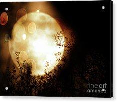 New Year Super Moon Acrylic Print