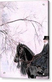 New Year's Resolution Acrylic Print by Angela Davies