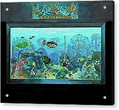 New York Aquarium Acrylic Print
