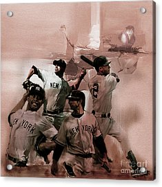 New York Baseball  Acrylic Print